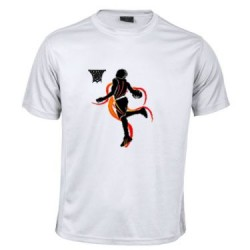 Camiseta Transpirable Basket