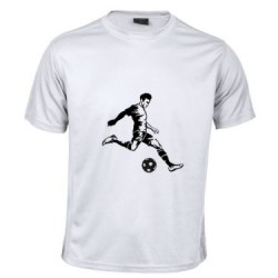 Camiseta Transpirable Futbol